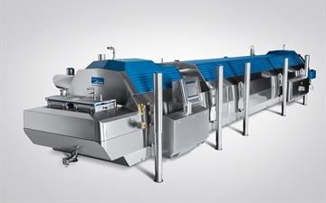 This patented freezer will produce IQF pellets in a regular size with high repeatability, opening up many possibilities for the modern food processor.